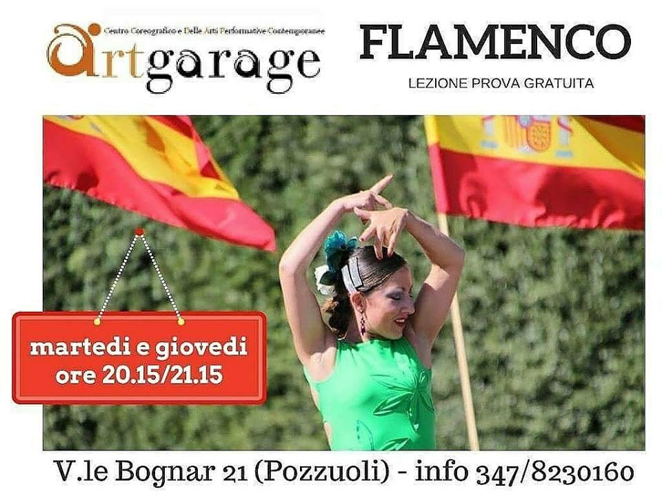CORSO FLAMENCO con ArtGarage