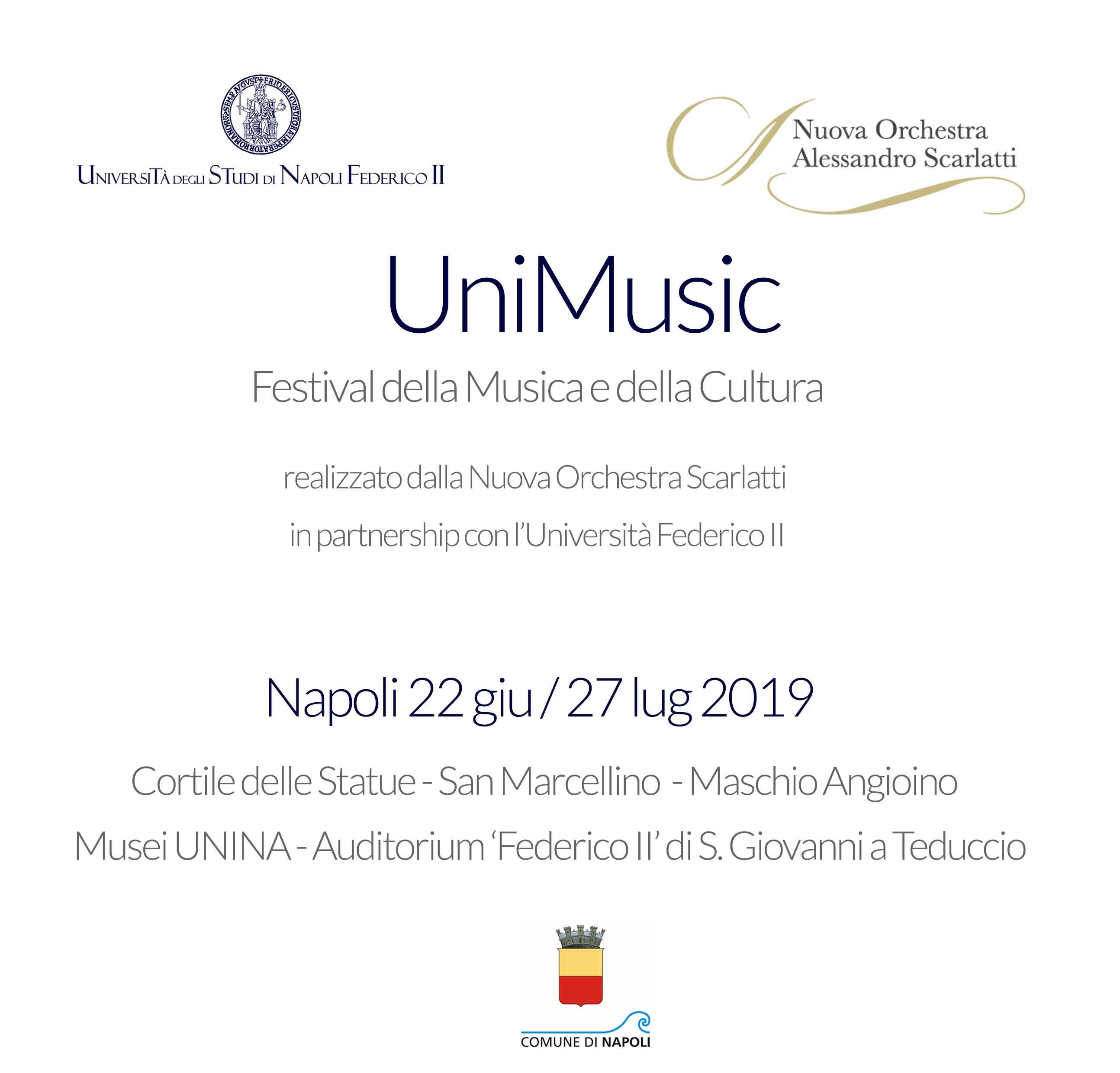Nuova Orchestra Scarlatti - UniMusic. Festival della Musica e della Cultura